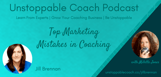 unstoppable coach small business marketing