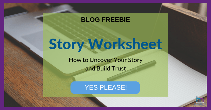 how to share your business story